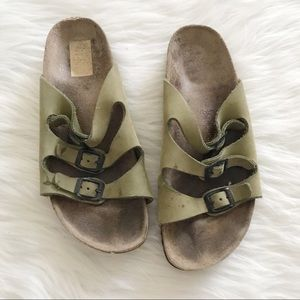 BIRKENSTOCK Florida Sandals 3 Strap SZ 39